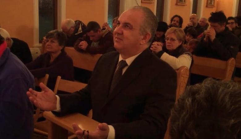 Video des Sehers Ivan Dragicevic während der Erscheinung der Gospa