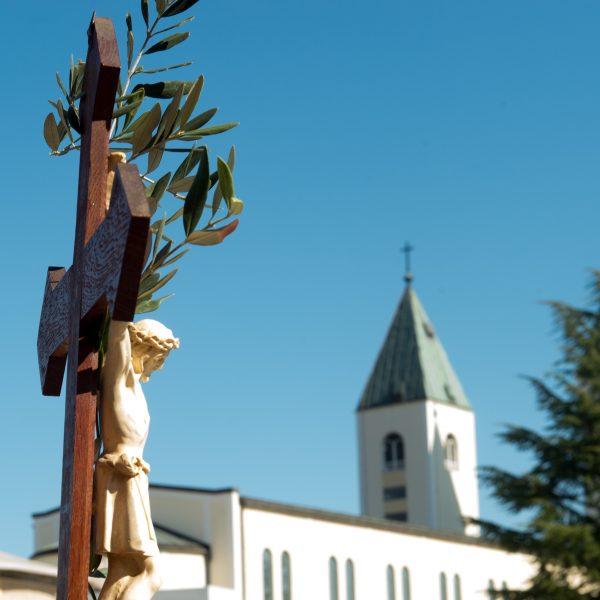 In Medjugorje wurde der Palmsonntag feierlich begangen