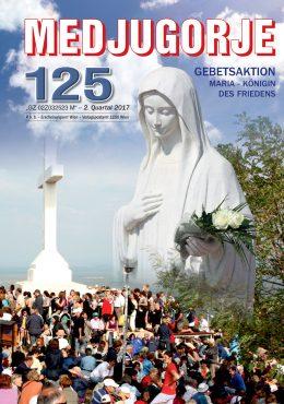Gebetsaktion Medjugorje 125 (Jubiläumsausgabe)