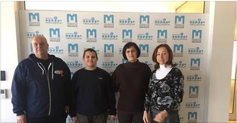 Familie Kopricanec aus Koprivnica über Medjugorje