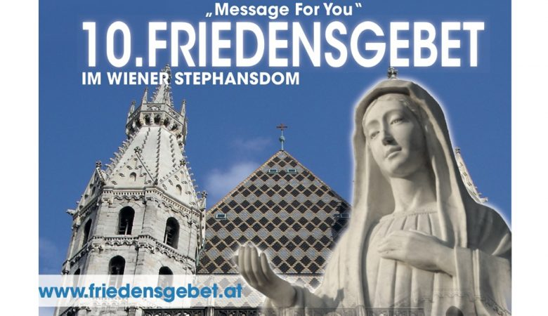 "Friedensgebet ""Message for You"""