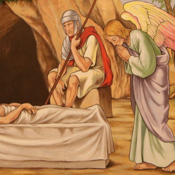 Karsamstag: Jesus ist wirklich gestorben, alles scheint zu Ende zu sein…