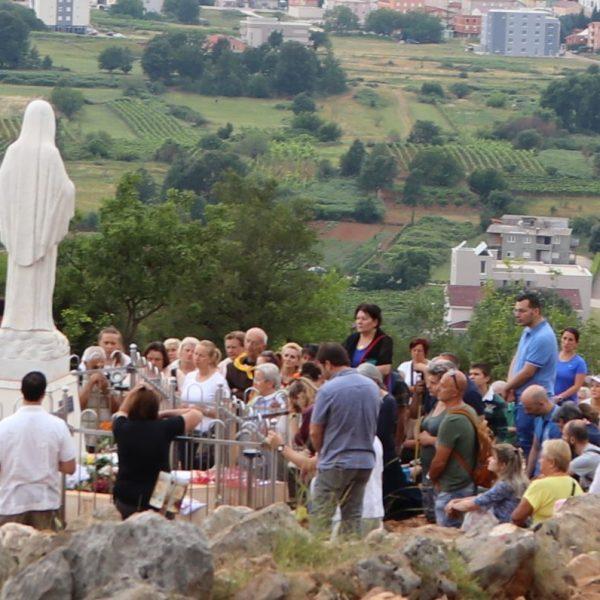 Anhaltend große Pilgerzahlen in Medjugorje