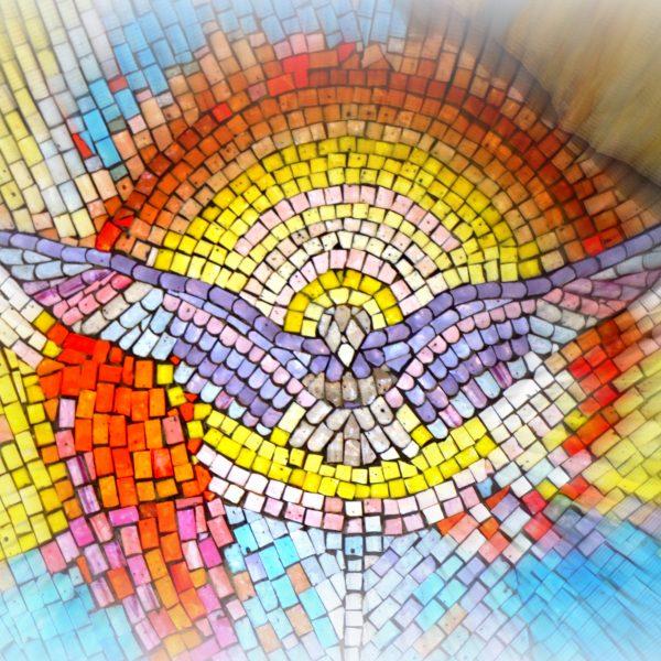 """""""Alle wurden mit dem Heiligen Geist erfüllt und begannen in fremden Sprachen zu reden, wie es der Geist ihnen eingab."""" (Apg 2,4)"""