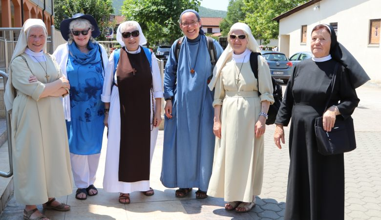 Ordensgemeinschaften zu Besuch in Medjugorje