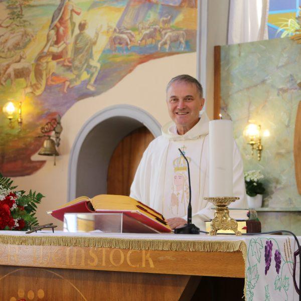 Pater Ignaz Domej feierte 60. Geburtstag