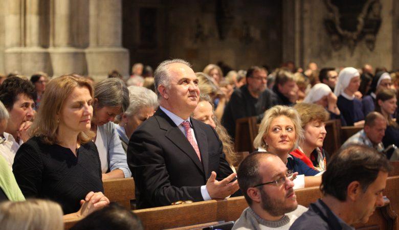 9.Friedensgebet im Wiener Stephansdom
