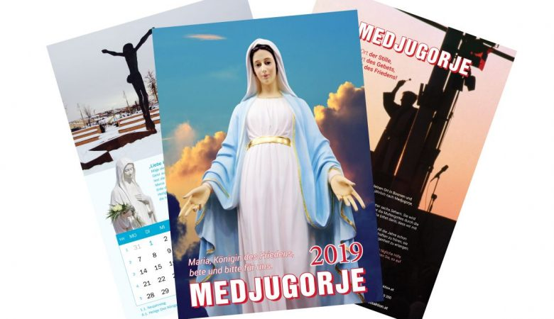 Weihnachtsaktion! Medjugorje-Kalender 2019 ab 2 Stück billiger