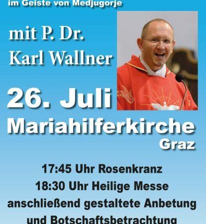 Friedensgebet in Graz-Mariahilf