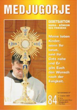 Gebetsaktion Medjugorje 84