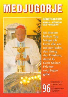 Gebetsaktion Medjugorje 96