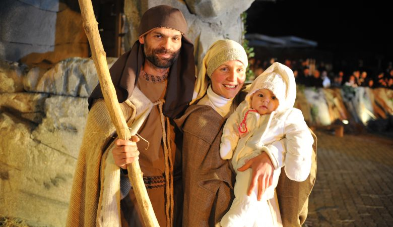 Lassen wir Christus in unsere Familien