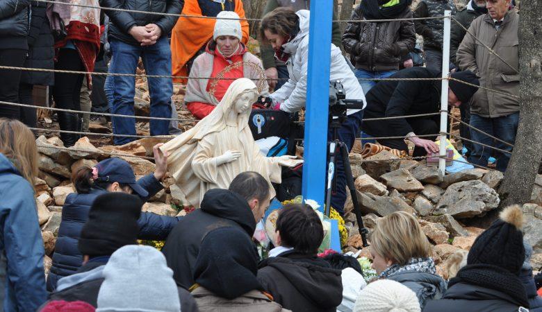 Vorbereitungen auf die Geburt Christi in Medjugorje