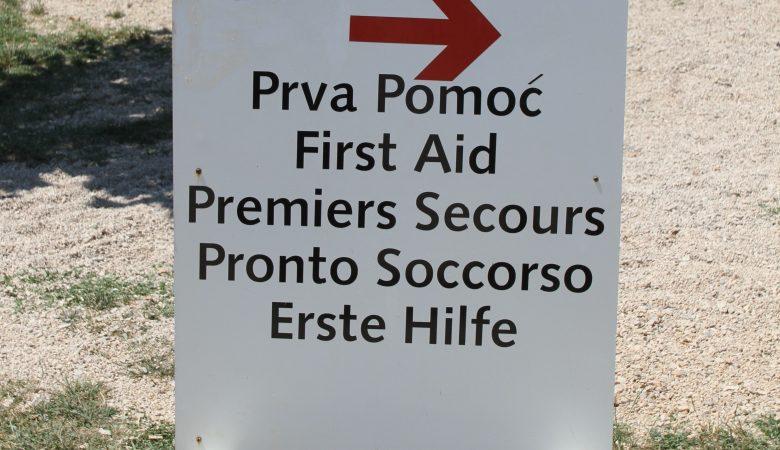 Tätigkeiten des Bergrettungsdienstes der Herzegowina Citluk Medjugorje