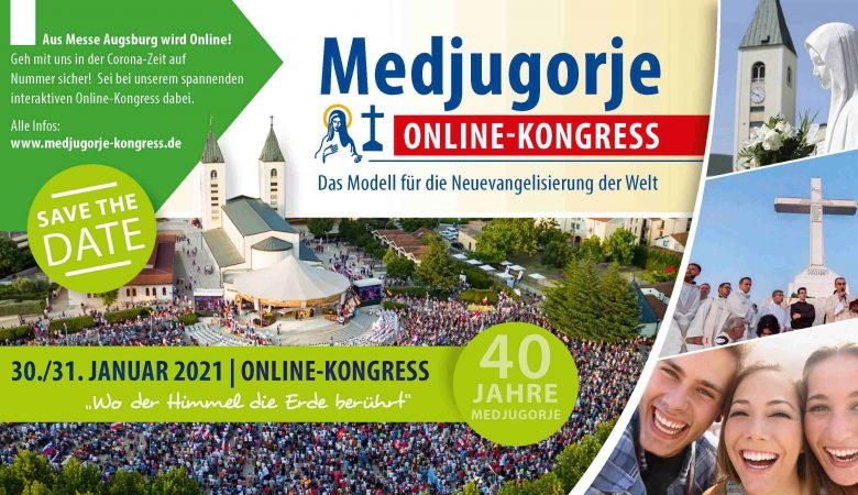Online-Kongress MEDJUGORJE am 30./31. Jänner 2021