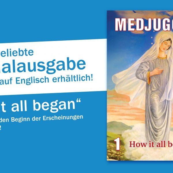 """""""How it all began"""" – unser erstes englisches Sonderheft"""