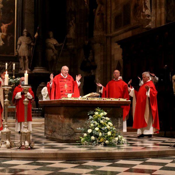 Rückblick auf das 13. Friedensgebet im Wiener Stephansdom