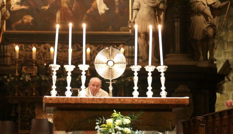 Friedensgebet 2021 im Wiener Stephansdom