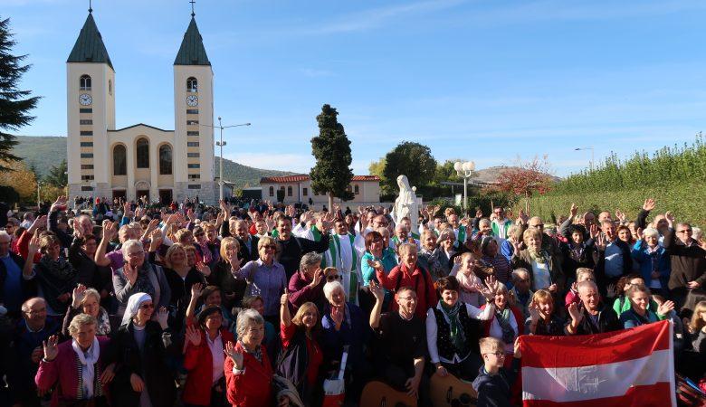 Weihe Österreichs an die Gottesmutter in Medjugorje