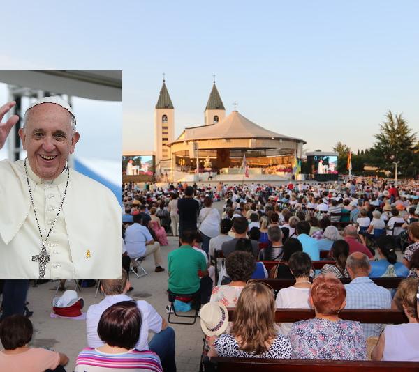 Papst Franziskus erlaubt offizielle Pilgerreisen nach Medjugorje