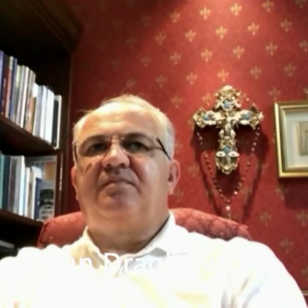Video-Grußbotschaft von Seher Ivan Dragičević beim Friedensgebet 2020