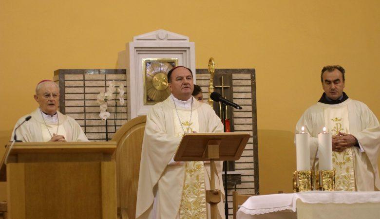 Bischof Petar Palic besuchte Medjugorje am 8. Dezember 2020