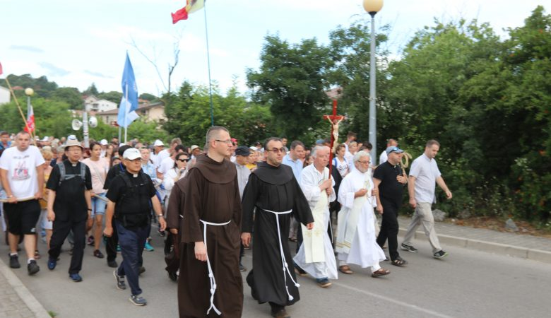 Friedensmarsch 2019 in Medjugorje