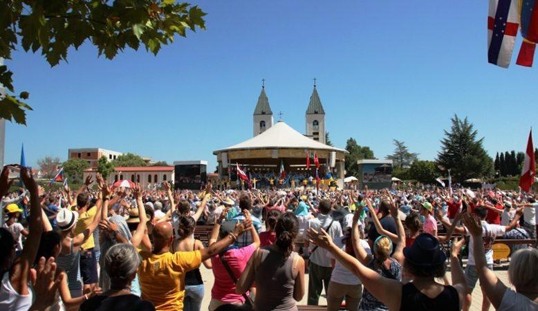 Das 27. internationale Gebetstreffen der Jugend hat am 1. August begonnen