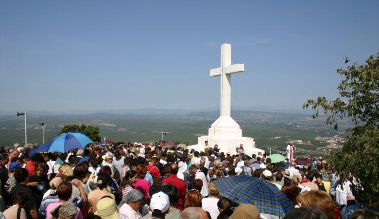 Fest Kreuzerhöhung in Medjugorje