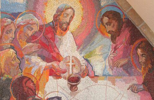 """""""Sie erkannten Jesus als er das Brot brach"""""""